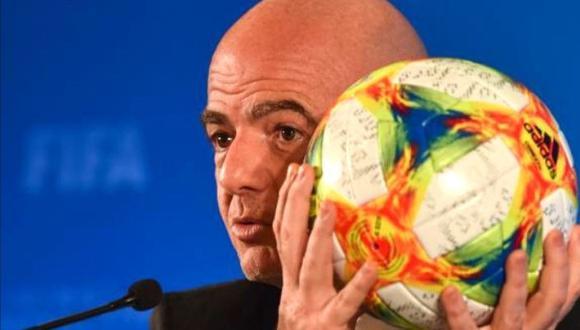 Gianni Infantino es presidente de la FIFA desde febrero del 2016. (Foto: Agencias)