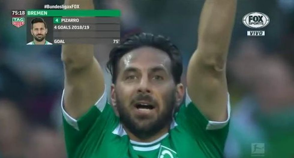 Gol de Claudio Pizarro