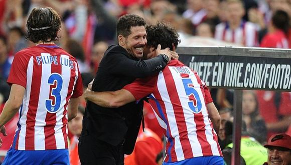 Diego Simeone recibe critica de su expupilo Filipe Luis (Foto: Getty Images)