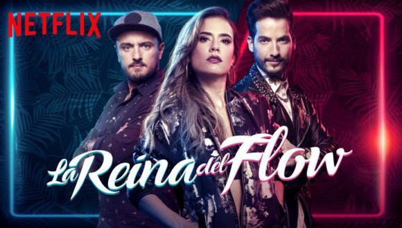 """La segunda temporada de """"La reina del flow"""" tendrá 80 capítulos, protagonizados una vez más por Carolina Ramírez, Carlos Torres y Andrés Sandoval.  (Foto: Caracol TV)"""