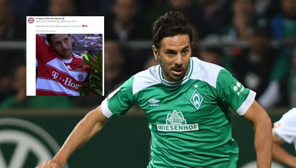 Claudio Pizarro recibe un mimo de Bayern Múnich con pletórico video de goles previa a duelo con Werder Bremen