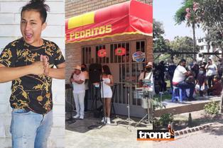 Amigos y familiares se despiden de 'Liendrita' al ritmo de cumbia en parque de Ate