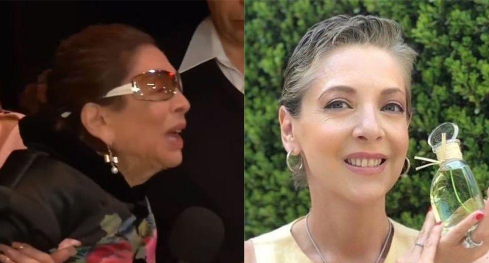 'Se me fue mi niña', la triste despedida de la mamá de Edith González en el velorio