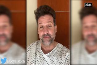 José María Listorti anuncia que sufre de neumonía