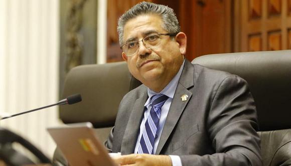 """Manuel Merino aseguró que su breve Gobierno """"tenía un equipo de ministros mucho más capaz"""" que el Gabinete presidido por Violeta Bermúdez. (Foto: GEC)"""