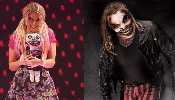 Alexa Bliss le agradeció a Bray Wyatt por todas las enseñansas. (WWE)