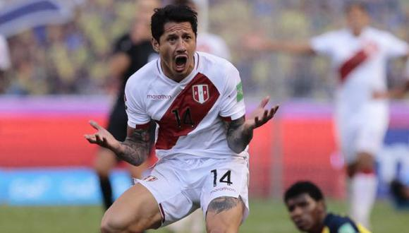 Gianluca Lapadula fue titular y jugó 66 minutos ante Brasil por la Copa América. (Foto: AFP)