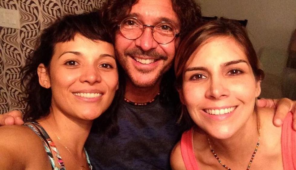 Karla Luna, Oscar Burgos y Karla Panini.