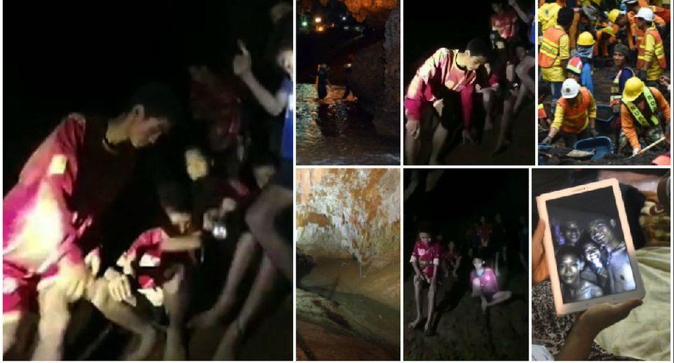 """FIFA """"feliz"""" por hallazgo con vida de 12 niños futbolistas perdidos en cueva de Tailandia hace 9 días"""