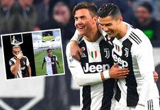 Cristiano Ronaldo y Paulo Dybala intercambian festejos para promocionar cuenta de TikTok de Juventus   VIDEO