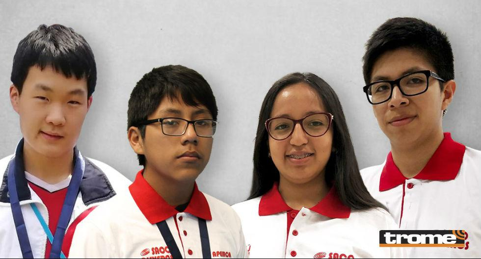Estudiantes peruanos triunfaron en competencia. Medallas de oro para Mijaíl Gutiérrez y Yohan Min, y de plata para Carla Fermín  y Eduardo Balbuena. (Trome)