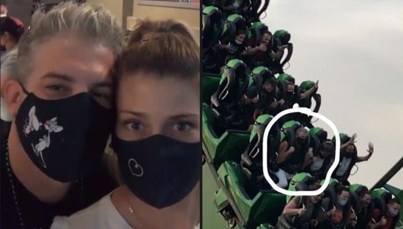 Pedro Moral y su novia Luciana Garavito. (Instagram)