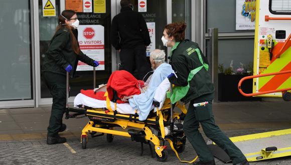 """Foto referencial. Dave Smith perdió más de 60 durante la enfermedad. """"Estaba listo para rendirme"""" y dispuesto a morir, contó a la BBC. (DANIEL LEAL-OLIVAS / AFP)"""