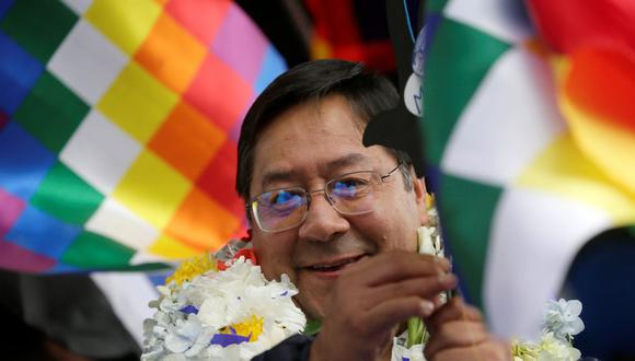 Luis Arce, candidato del MAS, se consagra ganador en primera vuelta en Bolivia, según sondeo a boca de urna.
