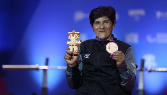 Juana Vasquez consiguió la cuarta medalla de bronce peruana. (Violeta Ayasta / GEC)