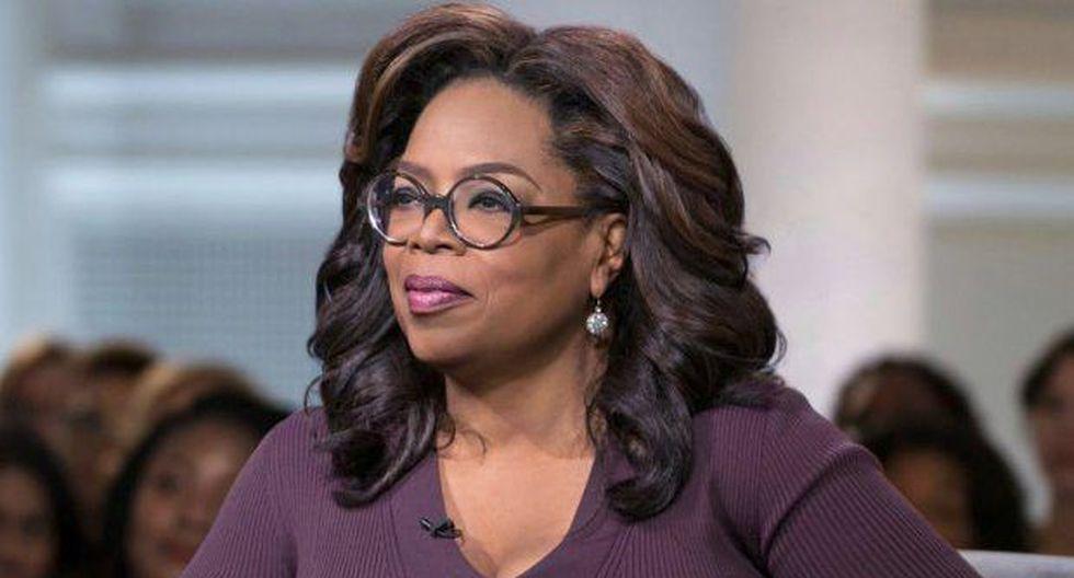 Oprah Winfrey es una celebridad en los Estados Unidos y supo surgir de la pobreza.