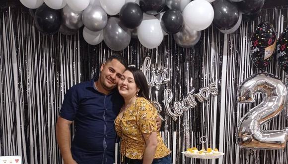 Los esposos venezolanos Diviana Farías Gonzalez (26) y Jair Enrique Moreno Santos (25).