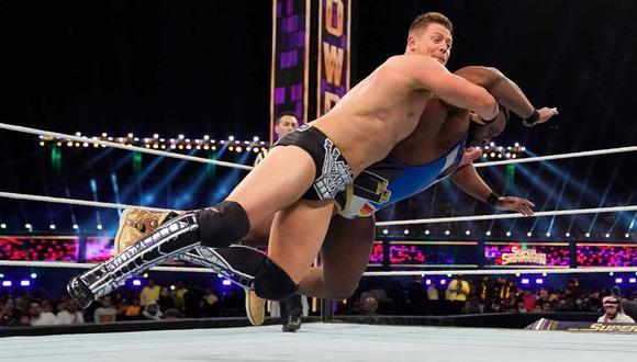 The Miz quedó fuera de Wrestlemania 36 por causa de una lesión. (Foto: WWE)