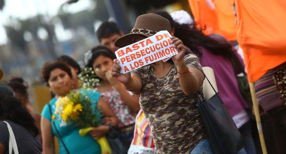 Sobre Keiko Fujimori pesa una orden de prisión preventiva por 36 meses por integrar una presunta organización criminal dedicada al lavado de activos al interior de Fuerza Popular. (Foto: Jesús Saucedo / GEC)
