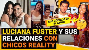 Luciana Fuster: Las polémicas relaciones amorosas de la modelo con chicos reality que mantenían amistad