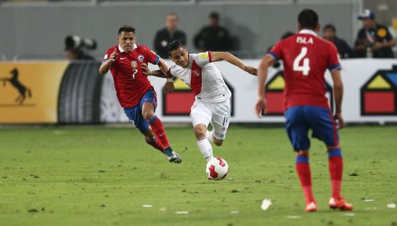 Las selecciones de Perú y Chile se enfrentan esta noche en el Hard Rock Stadium de Miami. (Foto: USI)