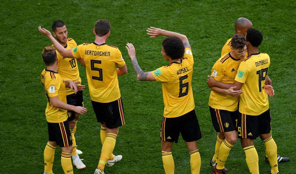 Bélgica 2-0 Inglaterra: Todos los videos, fotos, jugadas e incidencias del partido por Rusia 2018