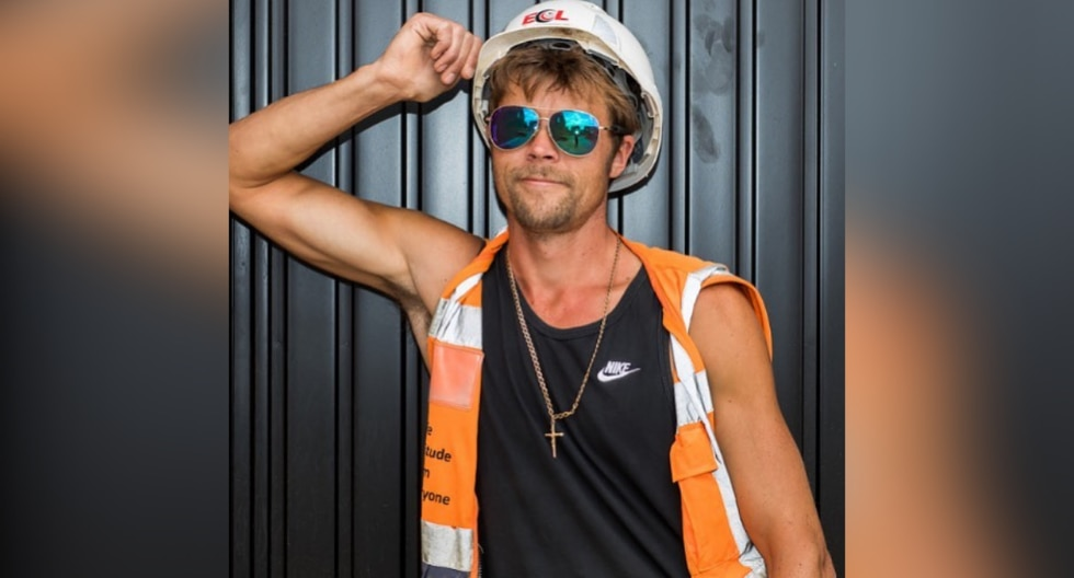 Su gran parecido con Brad Pitt cambió por completo la vida de un contratista en Inglaterra. (Fotos: @bradpitt_lookalike en Instagram)