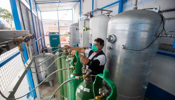Plantas y concentradores de oxígeno permitirán fortalecer la atención de pacientes en medio de la pandemia por COVID-19. (Foto: Gobierno regional del Callao)