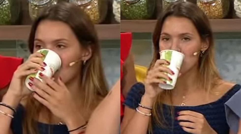 Alessia Drago, novia de Patricio Quiñones, toma emoliente tras incidente en Instagram