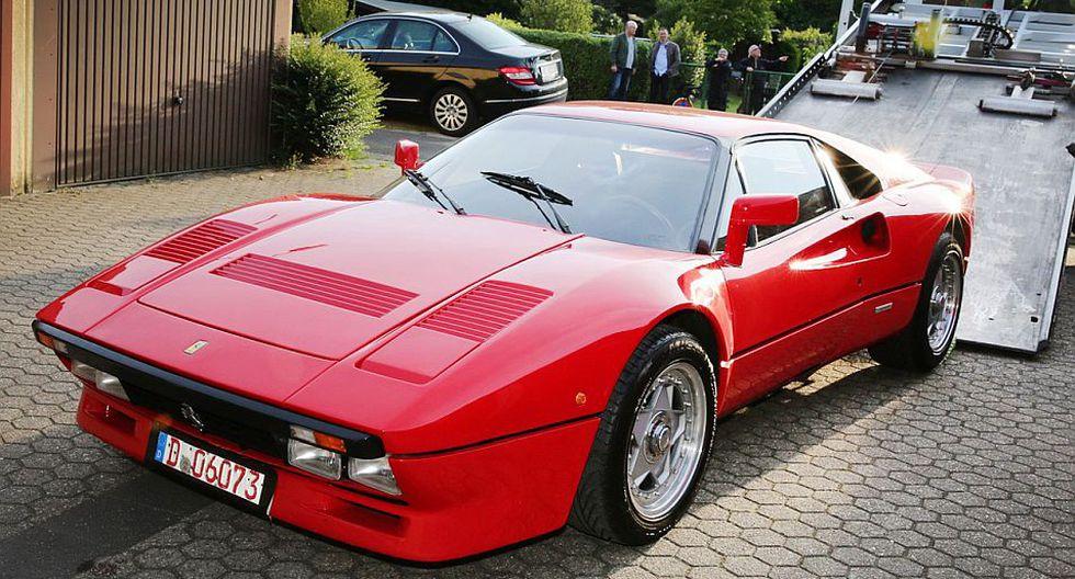 Imagen de archivo de un Ferrari 288 GTO. (Foto: AFP)