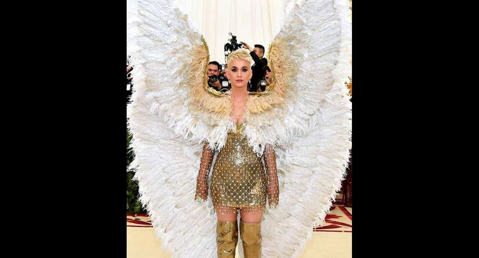 Vestidos de la MET Gala 2018: Katy Perry (Getty Images)