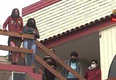 Los Olivos:                         14 miembros de comunidades nativas de Cusco no                         pueden abandonar hotel porque municipio no                         cancela hospedaje