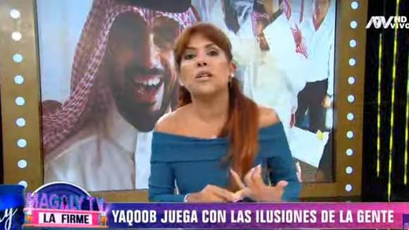 Yacoob es desenmascarado en reportaje que hace Magaly (TROME)