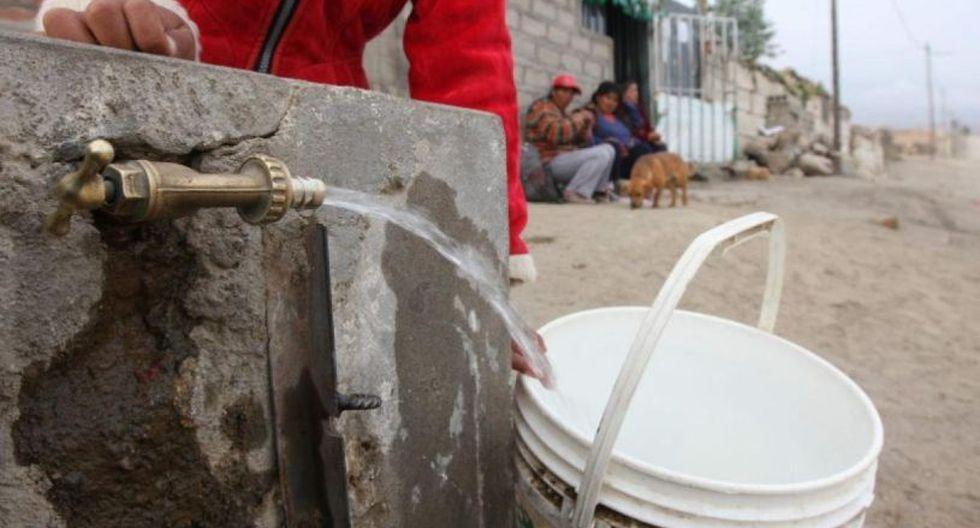 Sedapaldetalló que estableció los puntos de distribución de agua potable en San Juan de Miraflores, Villa El Salvador y Villa María del Triunfo. (El Comercio)