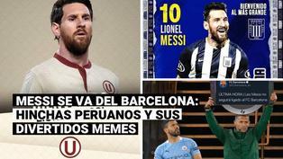 Messi se va del Barcelona y los hinchas lo quieren en el fútbol peruano