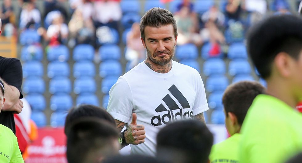 David Beckham  genera 357 mil dólares por cada post en Instagram. (Foto: AFP)