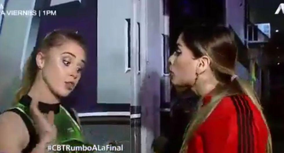 Korina Rivadeneira y Ducelia Echevarría
