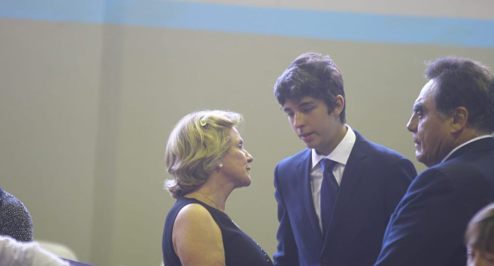 Federico Danton y Pilar Nores