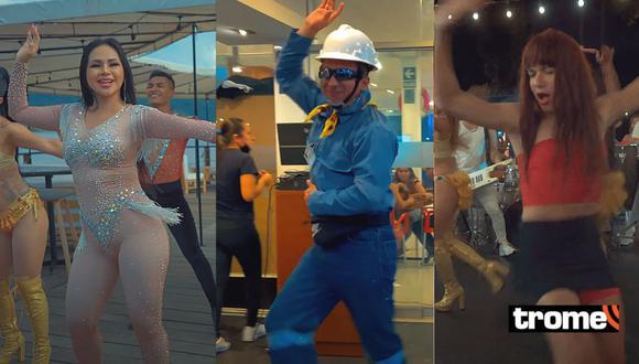 'Explosión de Iquitos' estrenó videoclip 'No sé' con el Ingeniero bailarín y La Uchulú