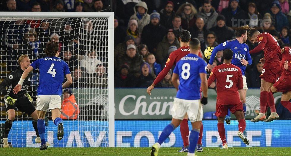 Liverpool vs Leicester  en vivo
