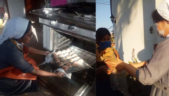 Venden pancitos para ayudar a los más necesitados.