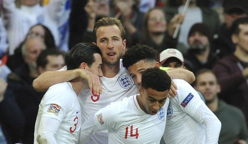 Inglaterra remontó 2-1 a Croacia y clasificó al Play Off de la Liga de Naciones de UEFA
