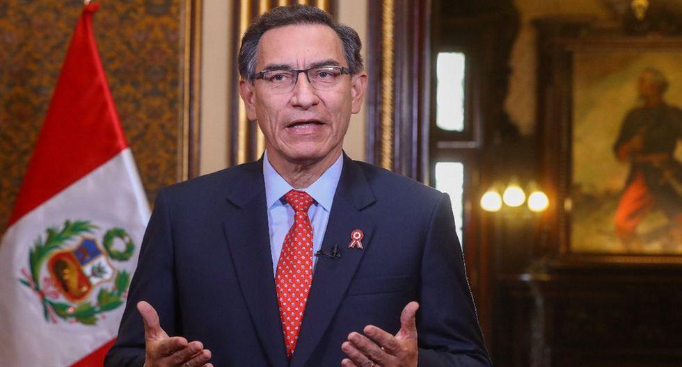 Martín Vizcarra ofreció su último mensaje a la Nación. (Presidencia Perú)