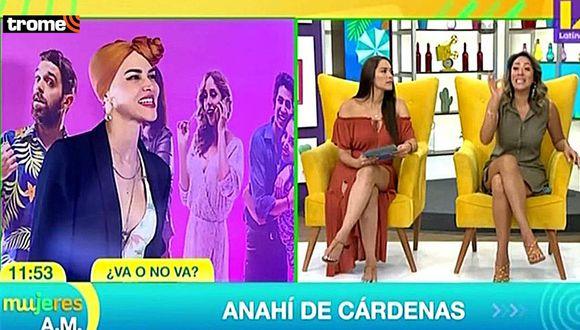 Anahí de Cárdenas pasó incómodo momento por desatinado comentario sobre su turbante en 'Mujeres al mando' (Foto: Latina)