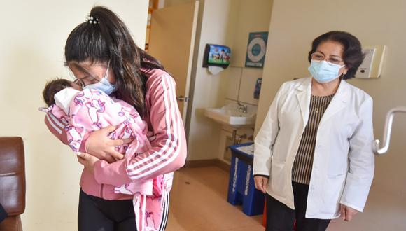 Operan con éxito a bebé recién nacida con dos kilos de peso.(Foto: INSN San Borja)