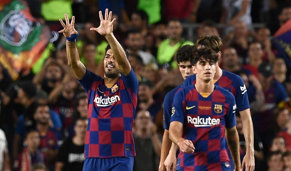 Con golazo de Luis Suárez en el último minuto, Barcelona venció a Arsenal y ganó el Trofeo Joan Gamper