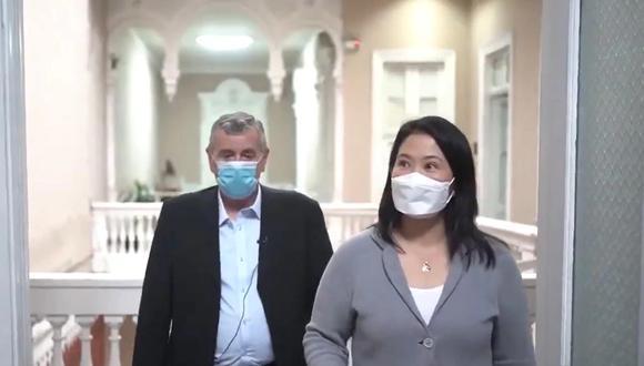 """Keiko Fujimori arremetió contra el Gobierno por su """"silencio"""" sobre el destino final de los restos del cabecilla terrorista Abimael Guzmán. (Foto: Twitter)"""