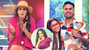 """Rebeca Escribens sobre hija mayor de Gino Assereto: """"Se parece a Jazmín Pinedo"""""""