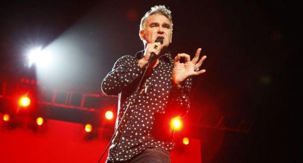 El cantante británico Morrissey volverá a Lima para ofrecer un show el 27 de noviembre próximo. (USI)