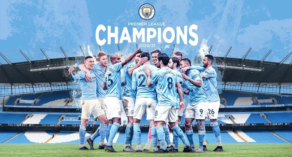 Manchester City es el nuevo campeón de la Premier League